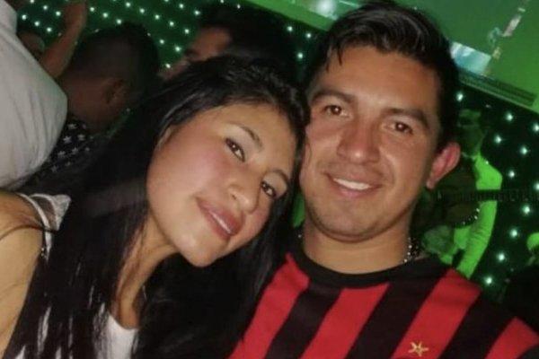 Pareja que murió en accidente de Chía ( Carmen Amanda González, y su esposo, José Michael Hurtado)