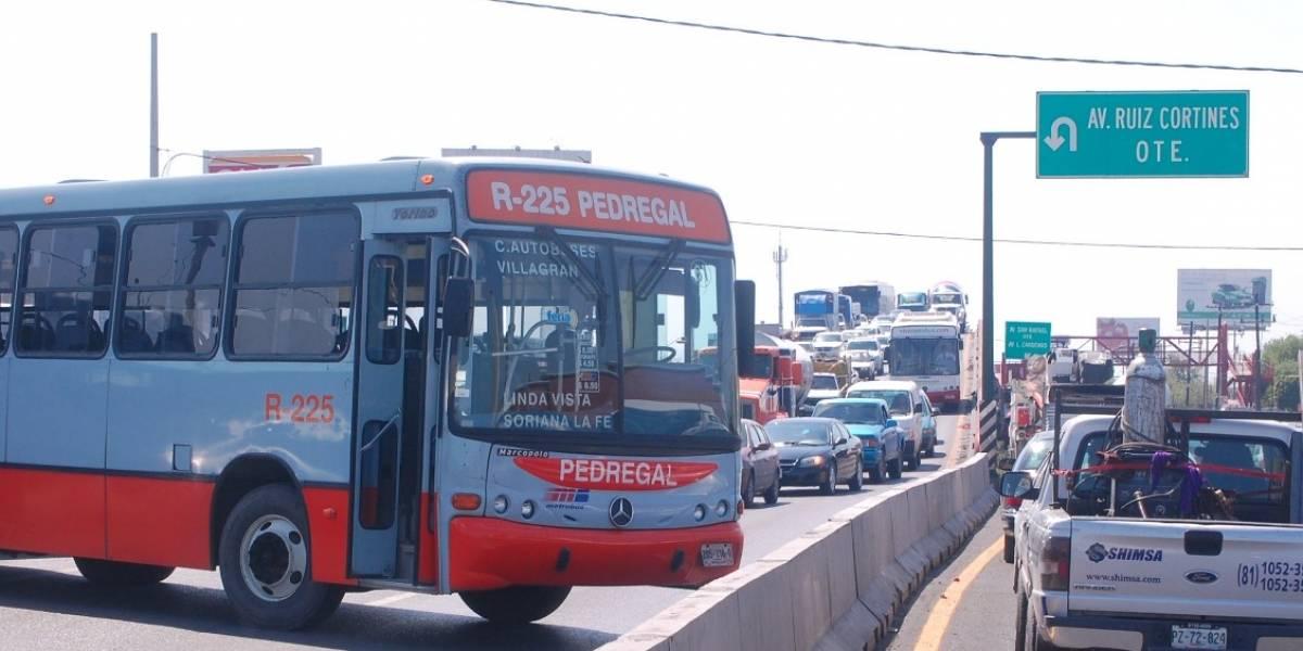 Subirán mensualmente las tarifas del transporte en Monterrey