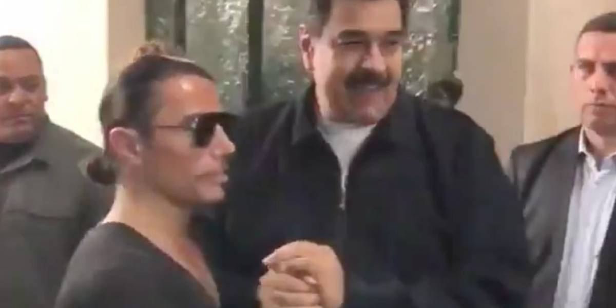 Video de Nicolás Maduro comiendo en exclusivo restaurante con el chef Salt Bae