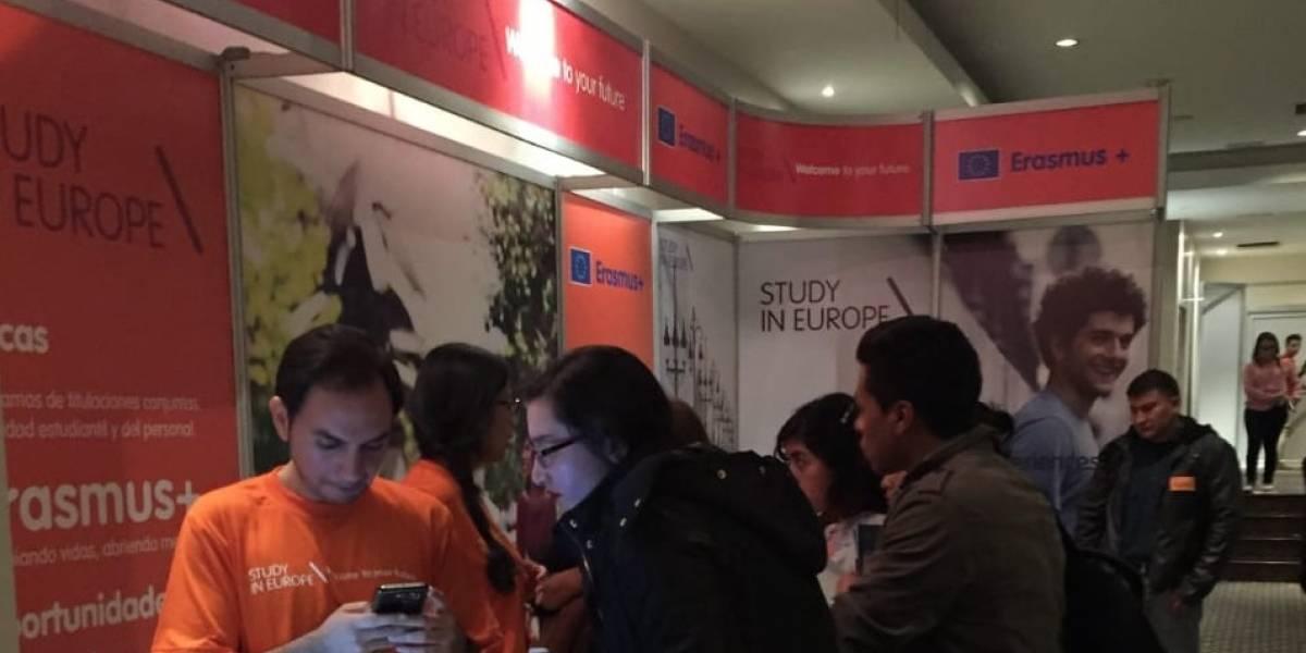 Feria en Quito invita a estudiantes a prepararse en Europa