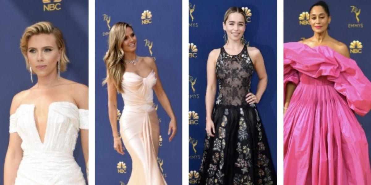 Emmy 2018: ¿Cuáles fueron las mejores y peores vestidas?