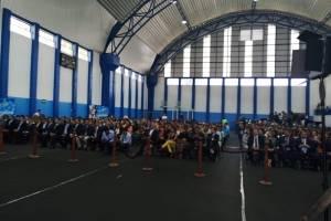 Complejo deportivo en Mixco
