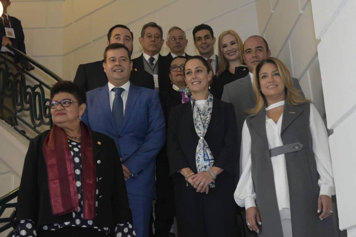 José Ramón Amieva acudió a al Congreso, pero solo a la sesión instaladora. Cortesía