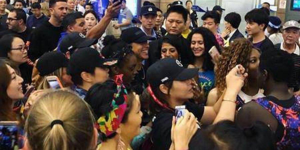 "Daddy Yankee fue recibido en China a ritmo de ""Dura"""