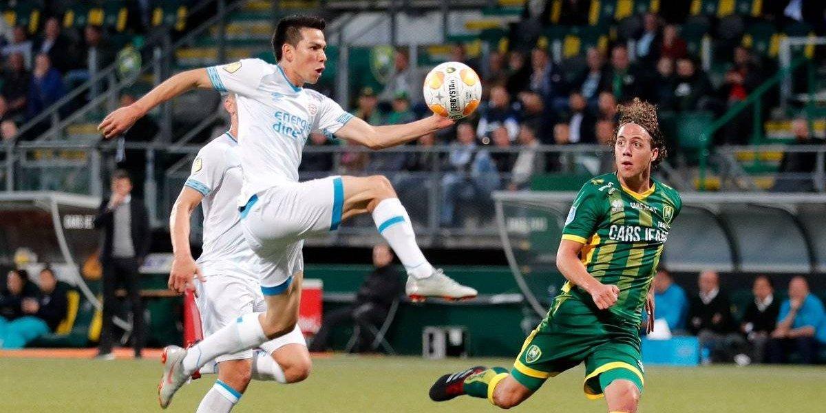 Chucky Lozano vuelve a aparecer en el 11 ideal de la Eredivisie