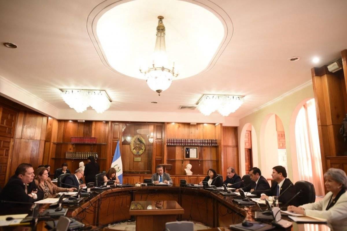 Salón de reuniones del pleno de la CSJ. Foto: Publinews