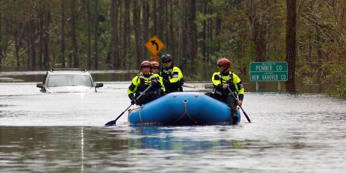Chuvas torrenciais do Florence matam 23 nas Carolinas do Norte e do Sul