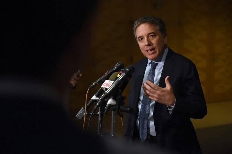 Nicolás Dujovne, ministro de Economía de Argentina