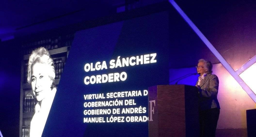 """La ex ministra de la Corte, Olga Sánchez Cordero participó en el Foro Forbes 2018 """"Camino a la Transición"""" @acastrochavez"""