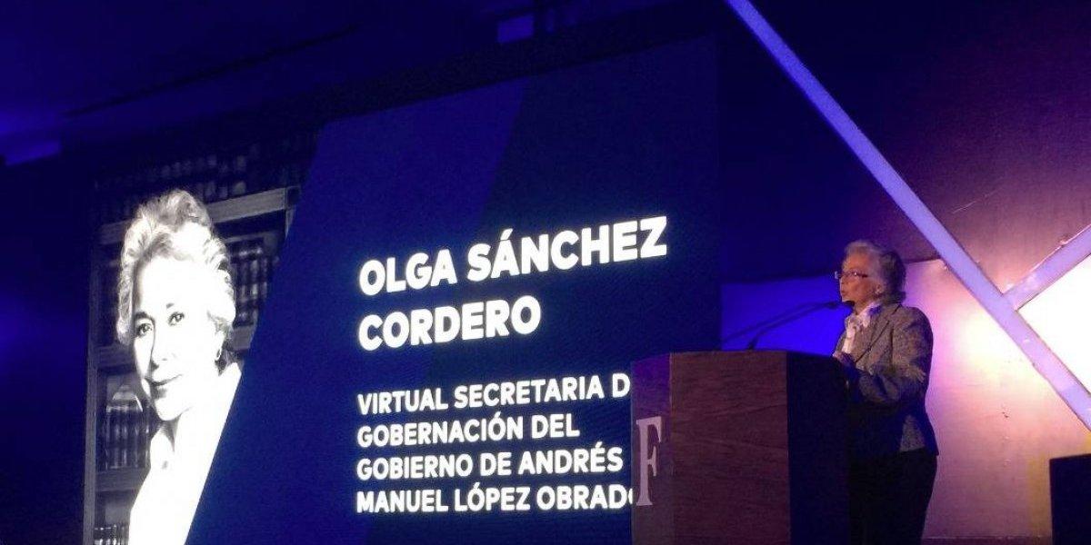 Vamos a recuperar el estado de derecho: Sánchez Cordero