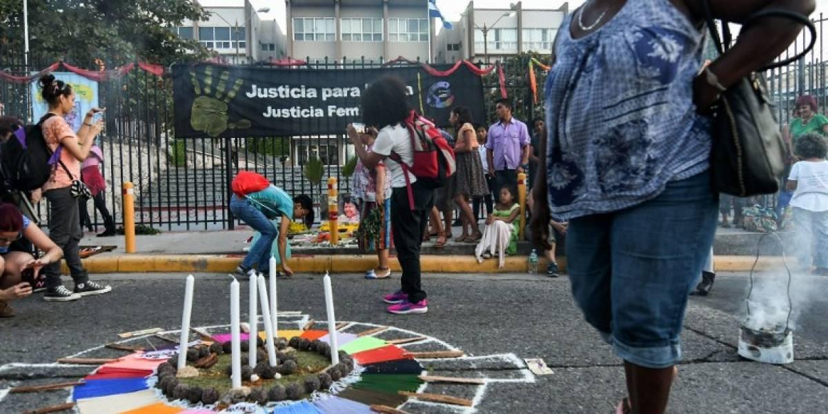 Garífunas claman justicia para ambientalista hondureña Berta Cáceres