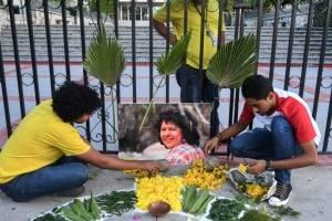 Garífunas piden justicia por Berta Cáceres