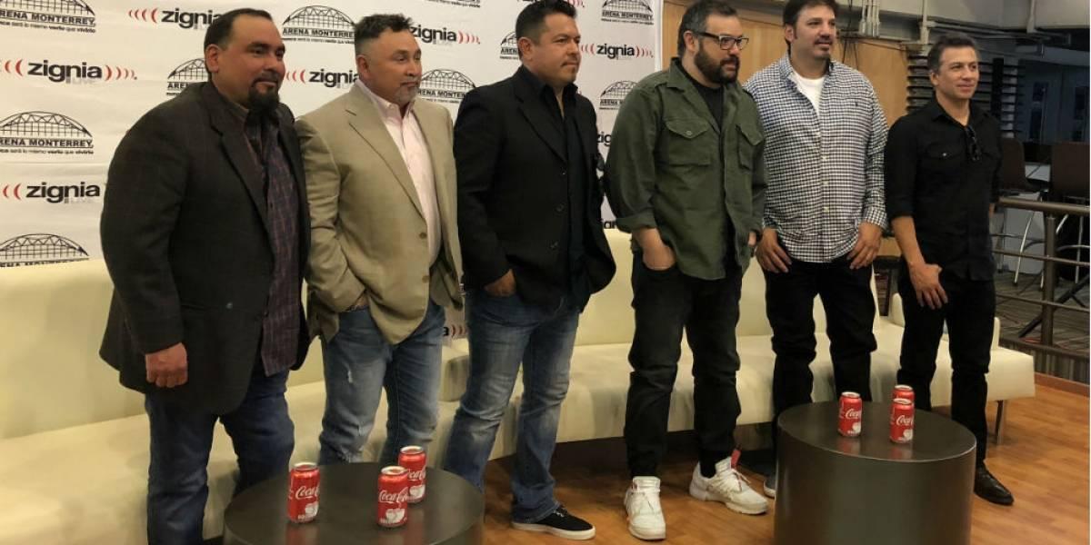 """""""Sólo en Monterrey pasa esto de dar tres fechas"""": Grupo Intocable"""