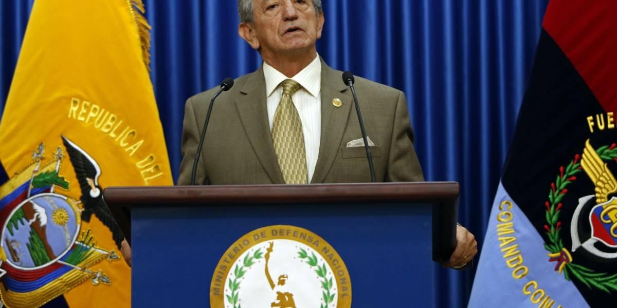 'Guacho' no buscaría refugio en Ecuador, según el Ministro de Defensa