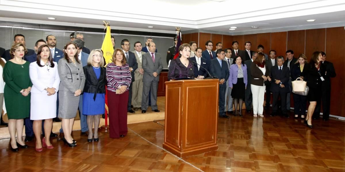 """Rafael Correa: """"La actuación de los jueces constitucionales fue vergonzosa"""""""