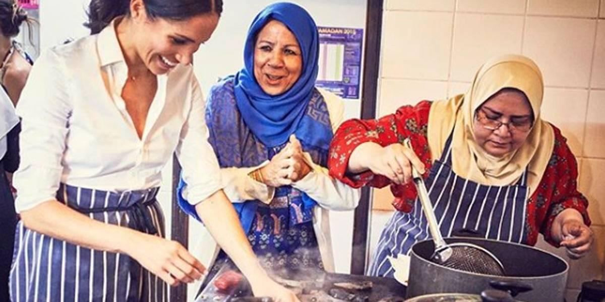 Meghan Markle vai para a cozinha em seu primeiro projeto solo na família real; veja o que é