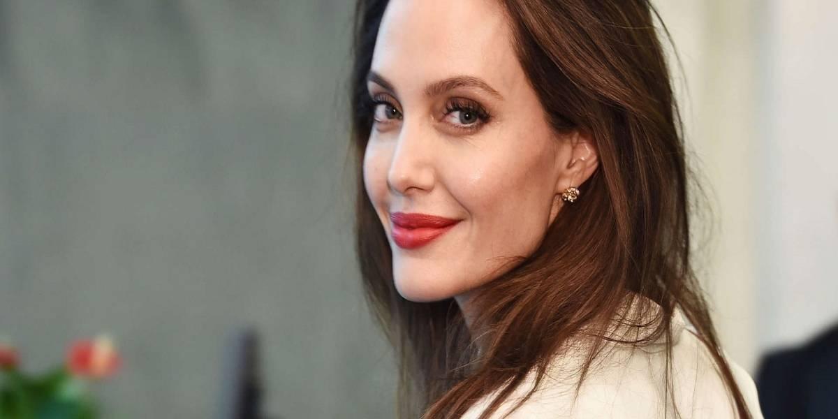 El sorprendente selfie de Angelina Jolie que arrasa en las redes