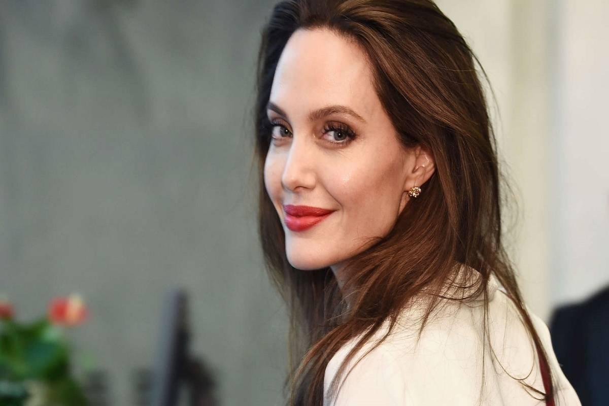 Selfie Angelina Jolie