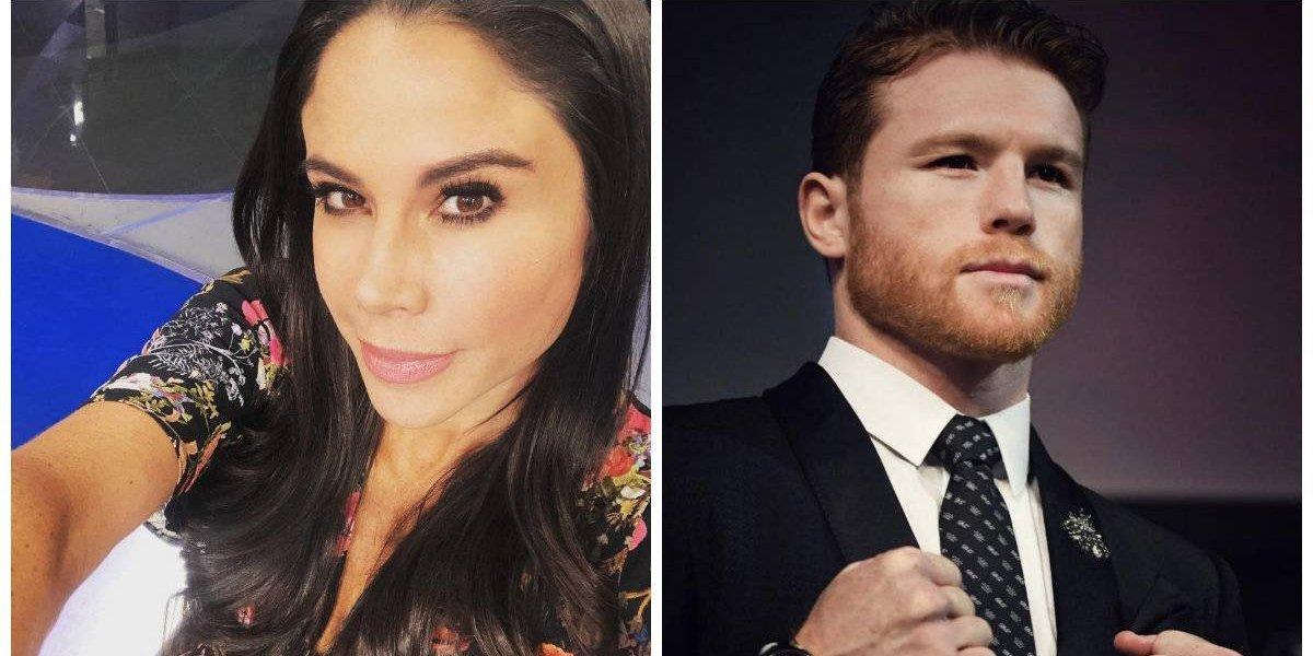 Paola Rojas y 'Canelo' Álvarez juntos en Las Vegas, desatan polémica