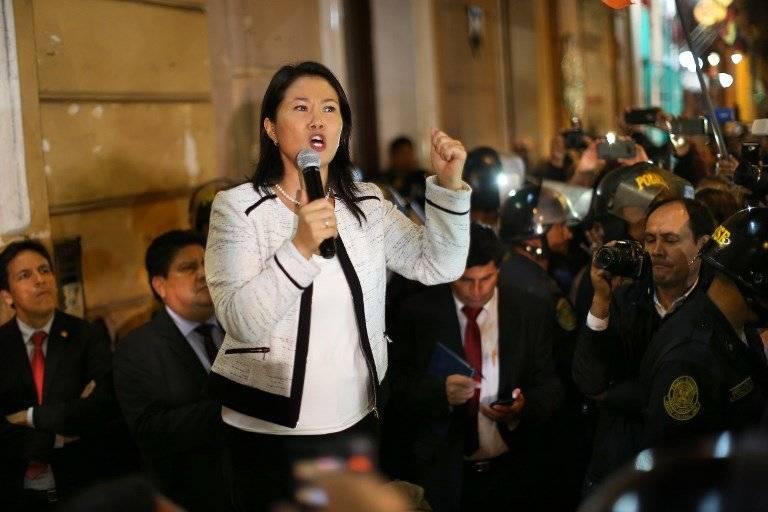 Keiko Fujimori en Perú