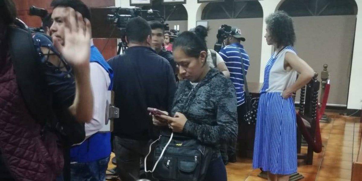 """Ministerio Público investiga presencia de supuesta PNC """"infiltrada"""" en conferencia en la CC"""
