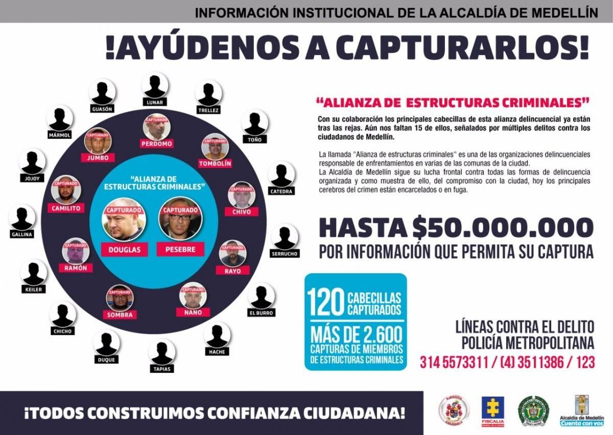 Recompensa Medellín