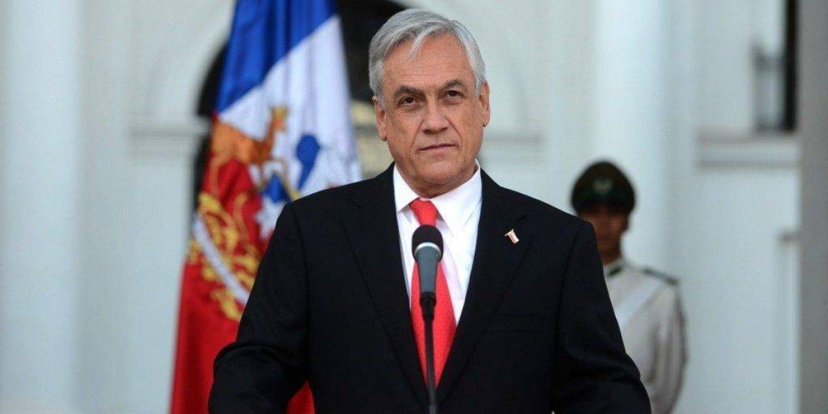 """Piñera acepta dialogar con Morales, pero """"respetando los tratados vigentes"""""""