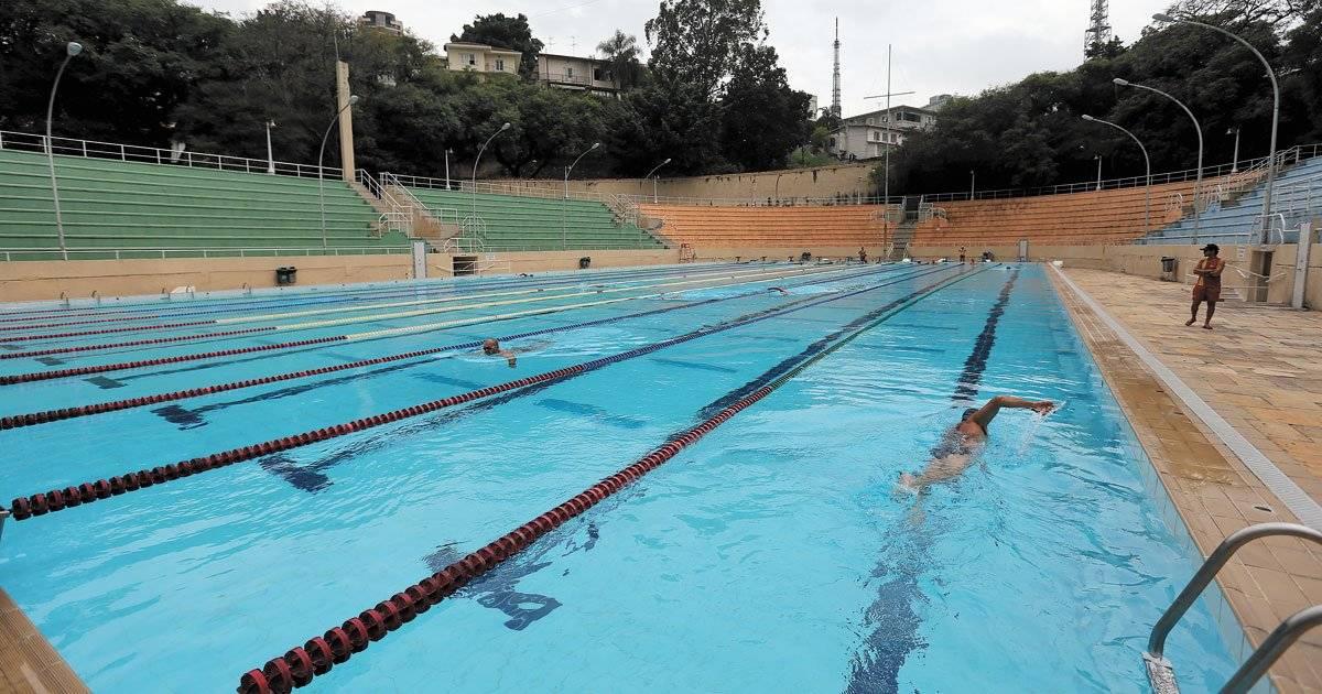 Piscina faz parte do complexo esportivo André Porto/Metro