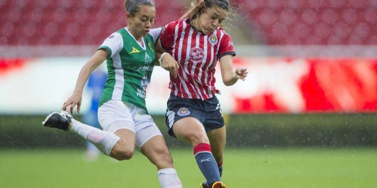 Chivas femenil retoma buen paso con goleada ante León