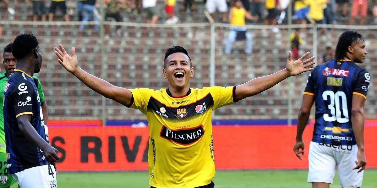 Washington Vera, jugador de Guayaquil City, aprehendido por conducir bajo influencia alcohólica