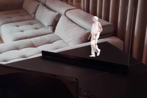 Crea hologramas tipo Star Wars con esta pantalla