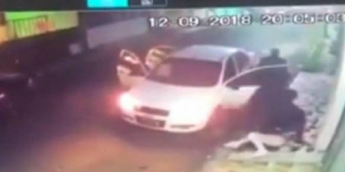 Rescatan a joven secuestrada en la puerta de su casa en Veracruz