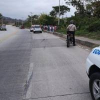 Accidente en Pedernales