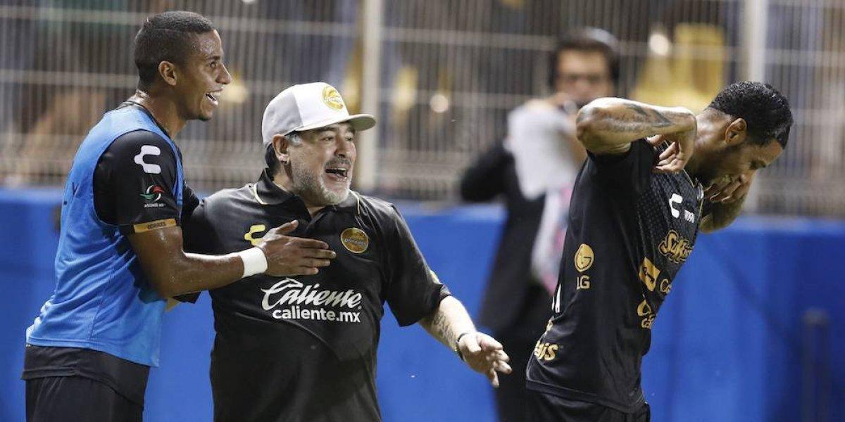 Maradona busca partido entre Dorados y Boca Juniors en Querétaro