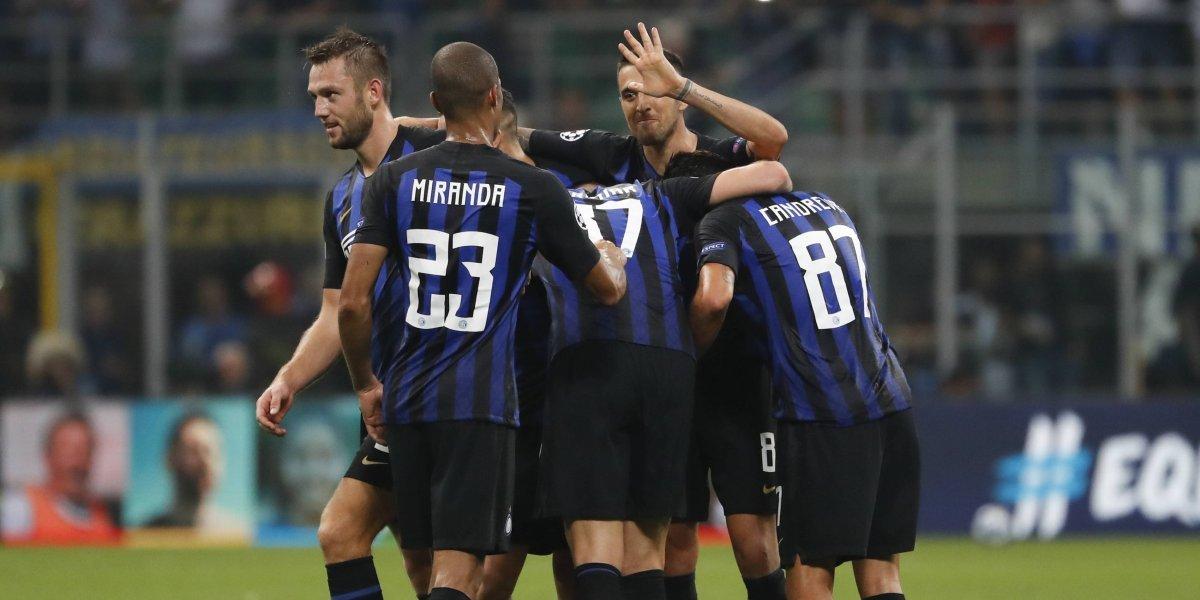 De la mano de Icardi y Vecino: Inter de Milán logró un agónico triunfo ante Tottenham en la Champions