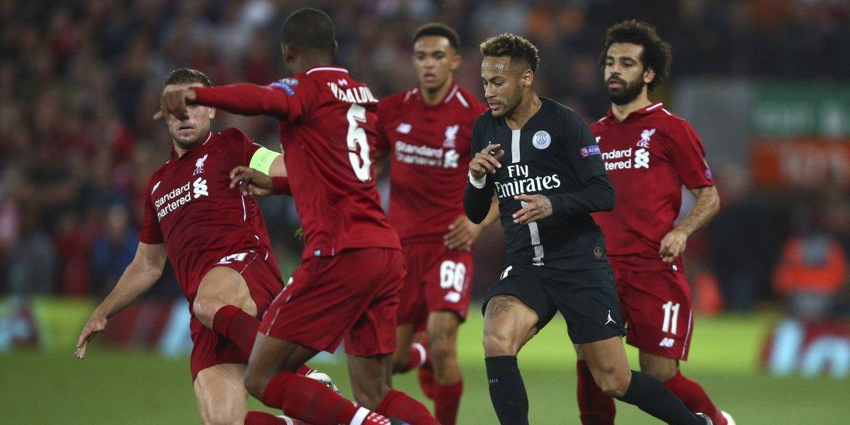 Liverpool venció en la agonía a PSG en un electrizante partido de Champions League