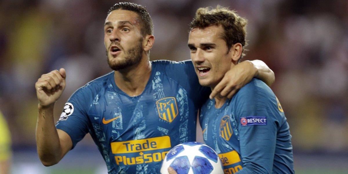 El Atlético de Madrid demostró jerarquía y se llevó tres puntos desde Mónaco por la Champions League