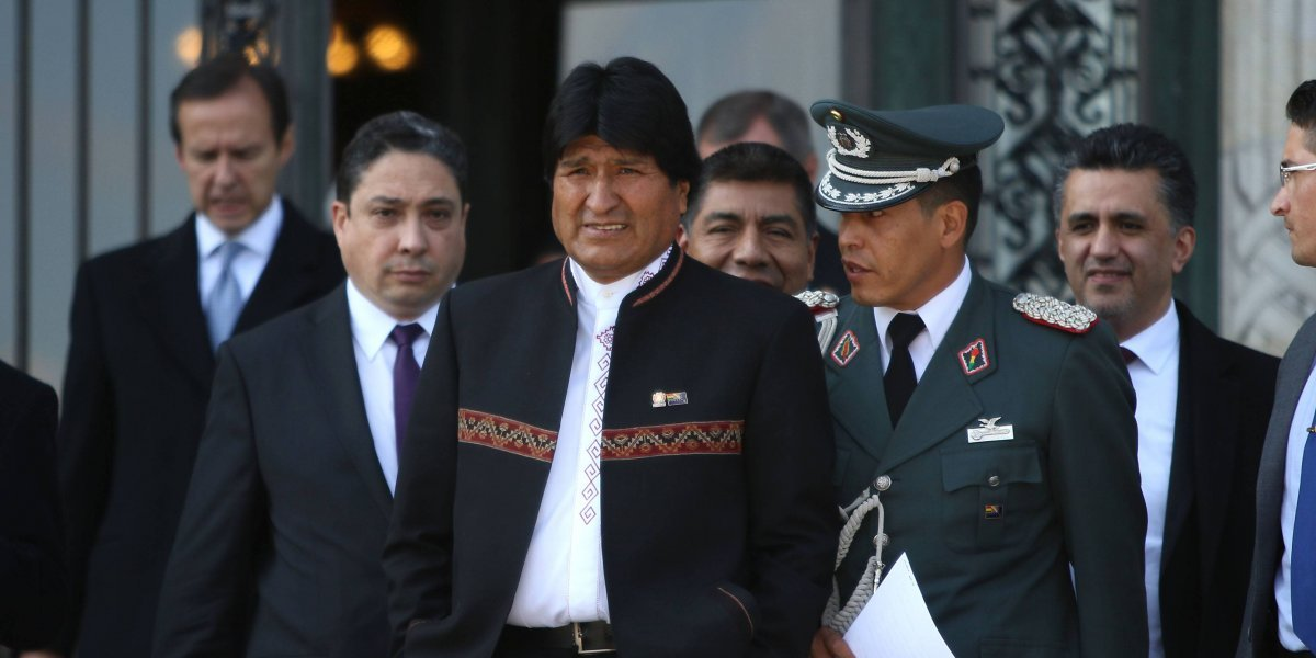 Citando a Presidente Salvador Allende Evo Morales saluda Chile en el día de su Independencia