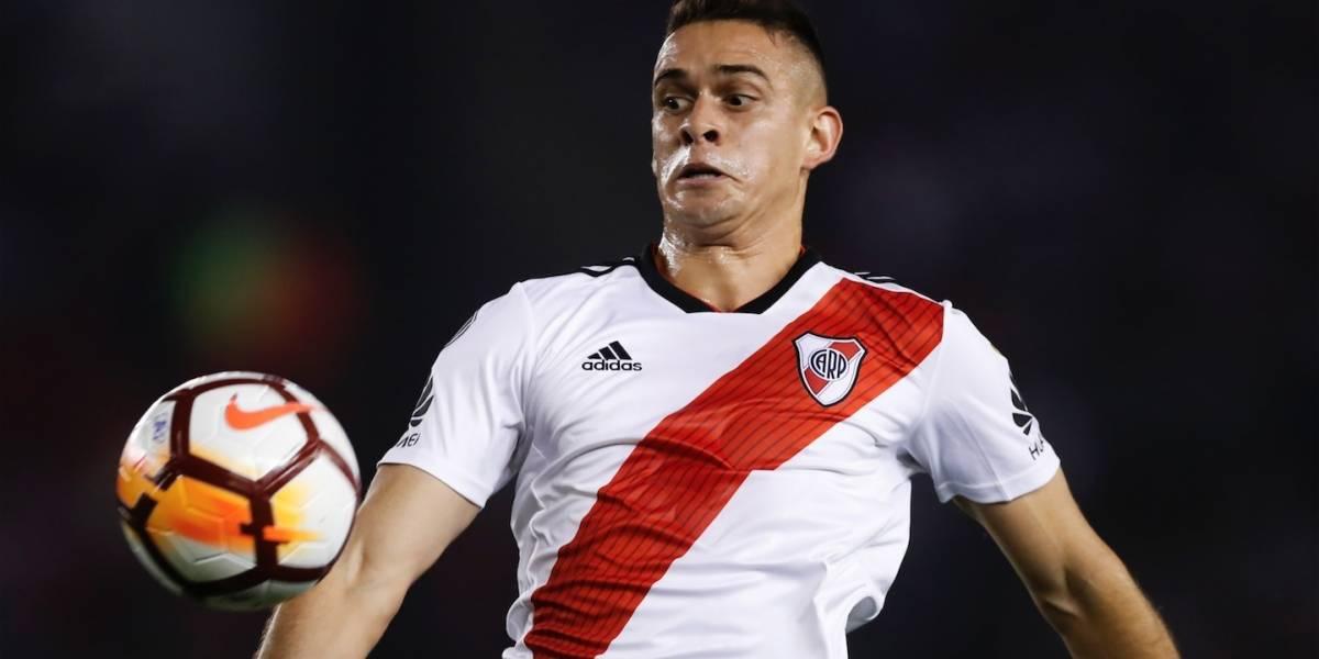 El feo gesto de Rafael Santos Borré tras saber que se perdía la final de la Copa Libertadores