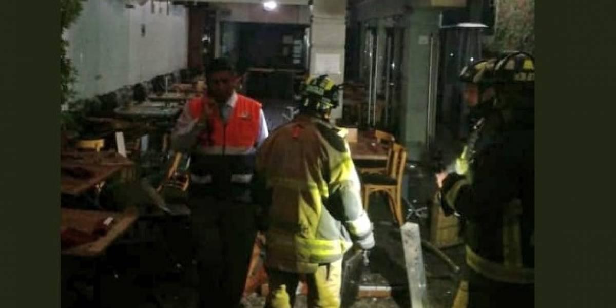 Al menos seis heridos tras explosión en restaurante de Coyoacán