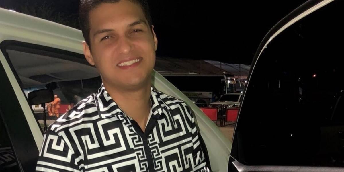 Otro hijo de Diomedes Díaz se accidentó en una carretera de la costa
