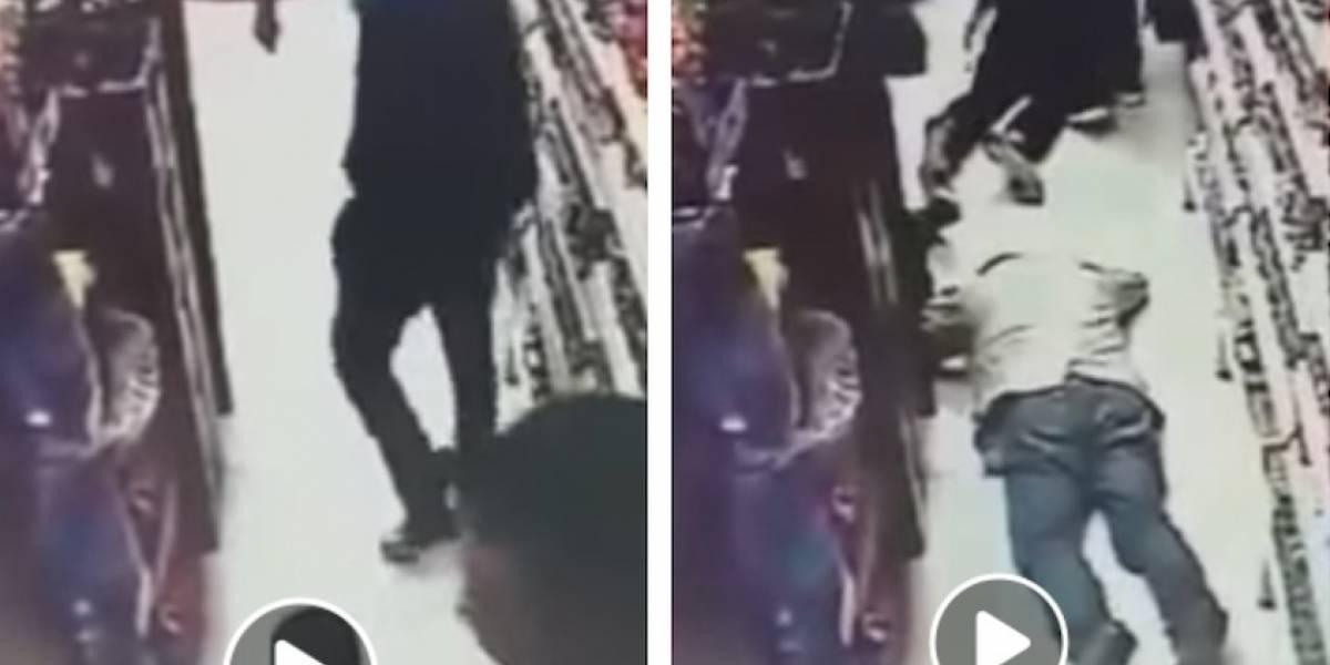 VIDEO: impactantes imágenes de robo en el norte de Bogotá a manos de extranjeros