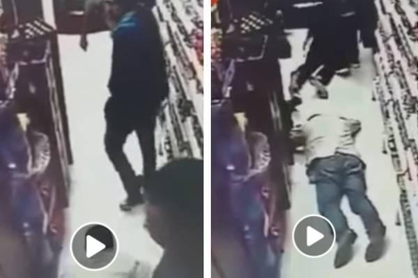 mpactantes imágenes de robo en el norte de Bogotá a manos de extranjeros