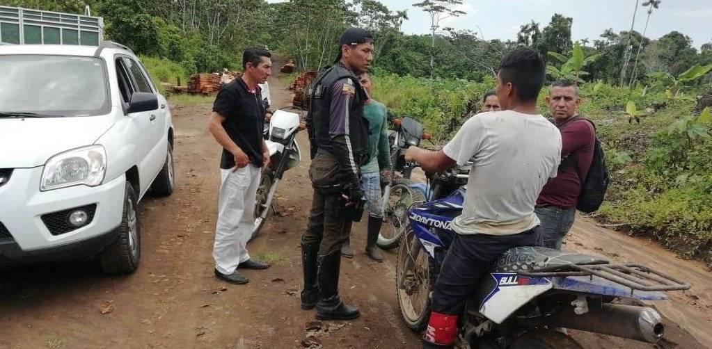 Policía rescató a dos menores presuntamente secuestrados en Orellana