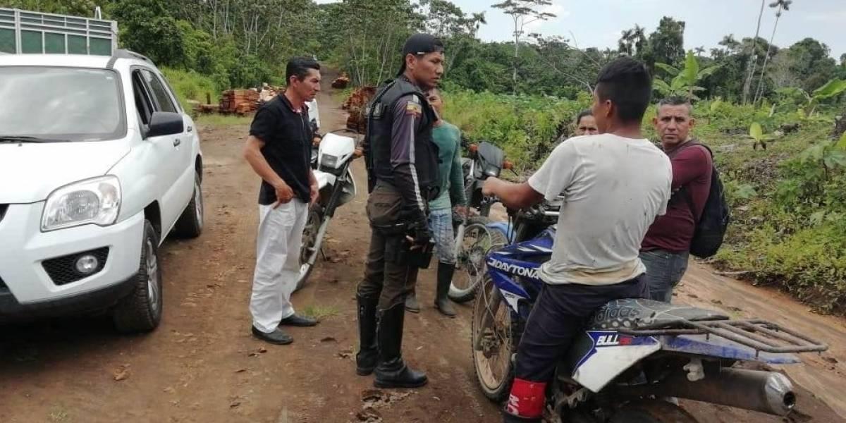 Policía rescató a dos menores secuestrados en Orellana