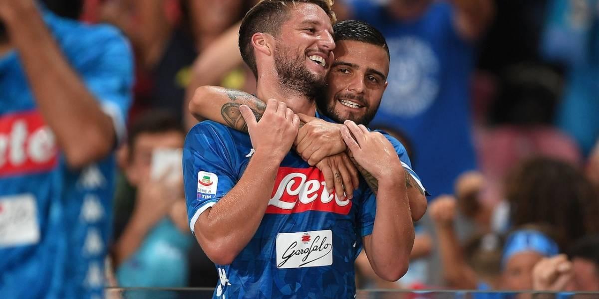 Napoli visita a la Estrella Roja en su anhelado regreso a Champions