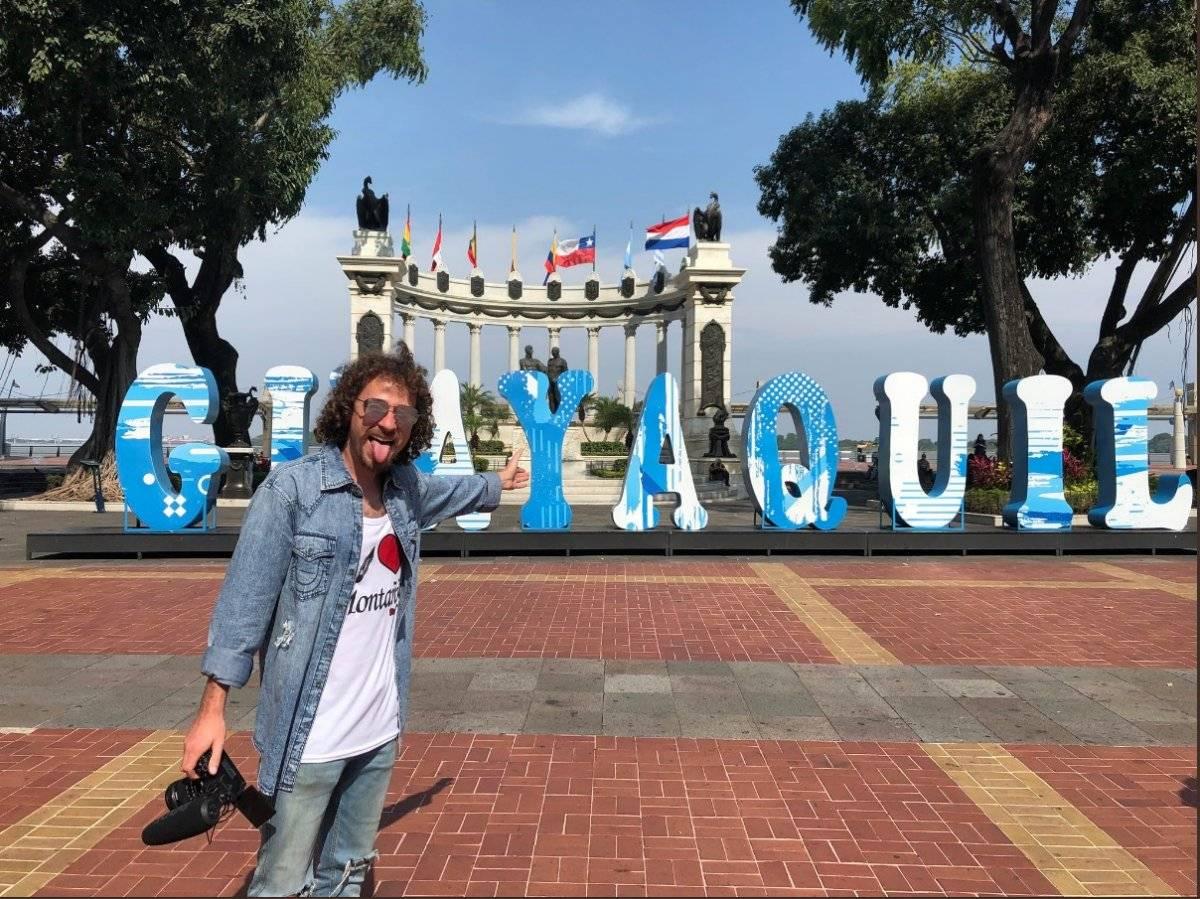 Luisito Comunica está en Guayaquil y causó furor a sus seguidores Twitter