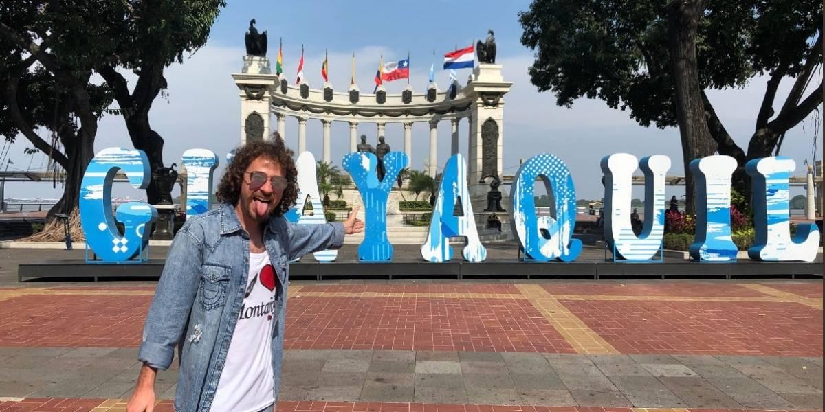 Luisito Comunica está en Guayaquil y causó furor a sus seguidores