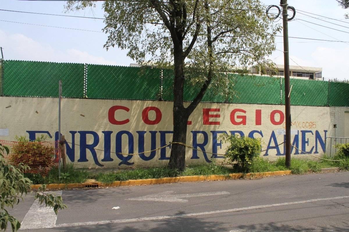 El Colegio se derrumbó por por el peso de un departamento de lujo. Nicolás Corte/Publimetro