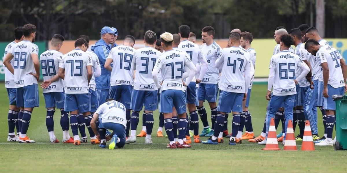 Palmeiras arribó al país y entrenará en el complejo de la U para preparar el duelo ante Colo Colo por la Libertadores